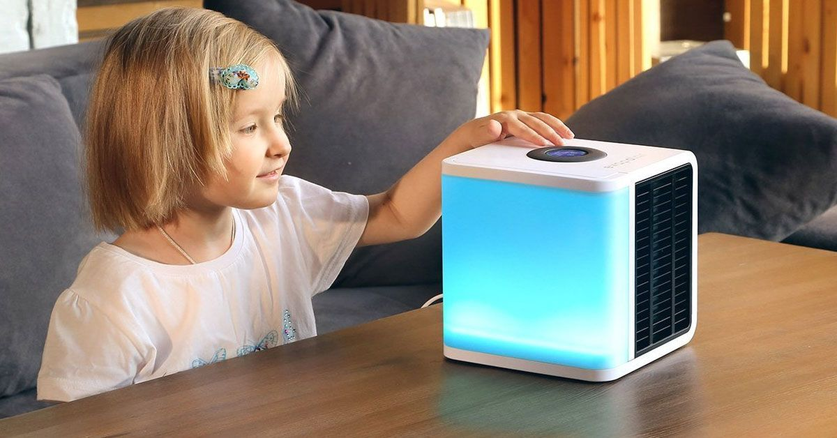 A Very Small Portable Air Conditioner You Can Take