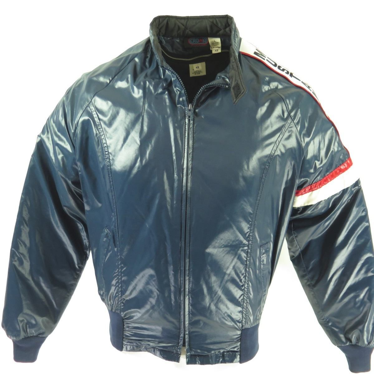 Vintage 80s Ford Mustang Gt Racing Jacket Mens L Deadstock Nos