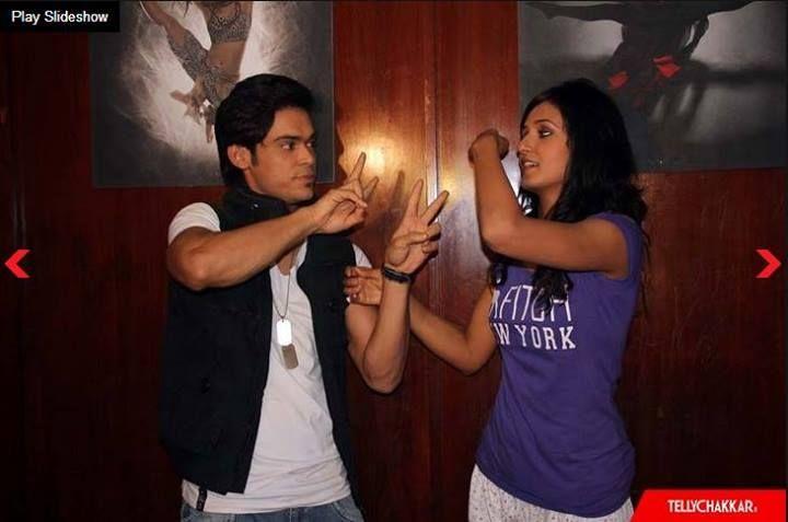 shakti mohan & kunwar amar , masti | Love at first sight