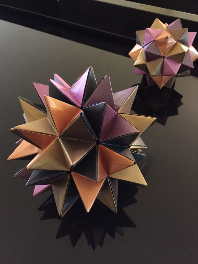 Kusudama Revealed Flower A Very Simple Origami Module To Make But