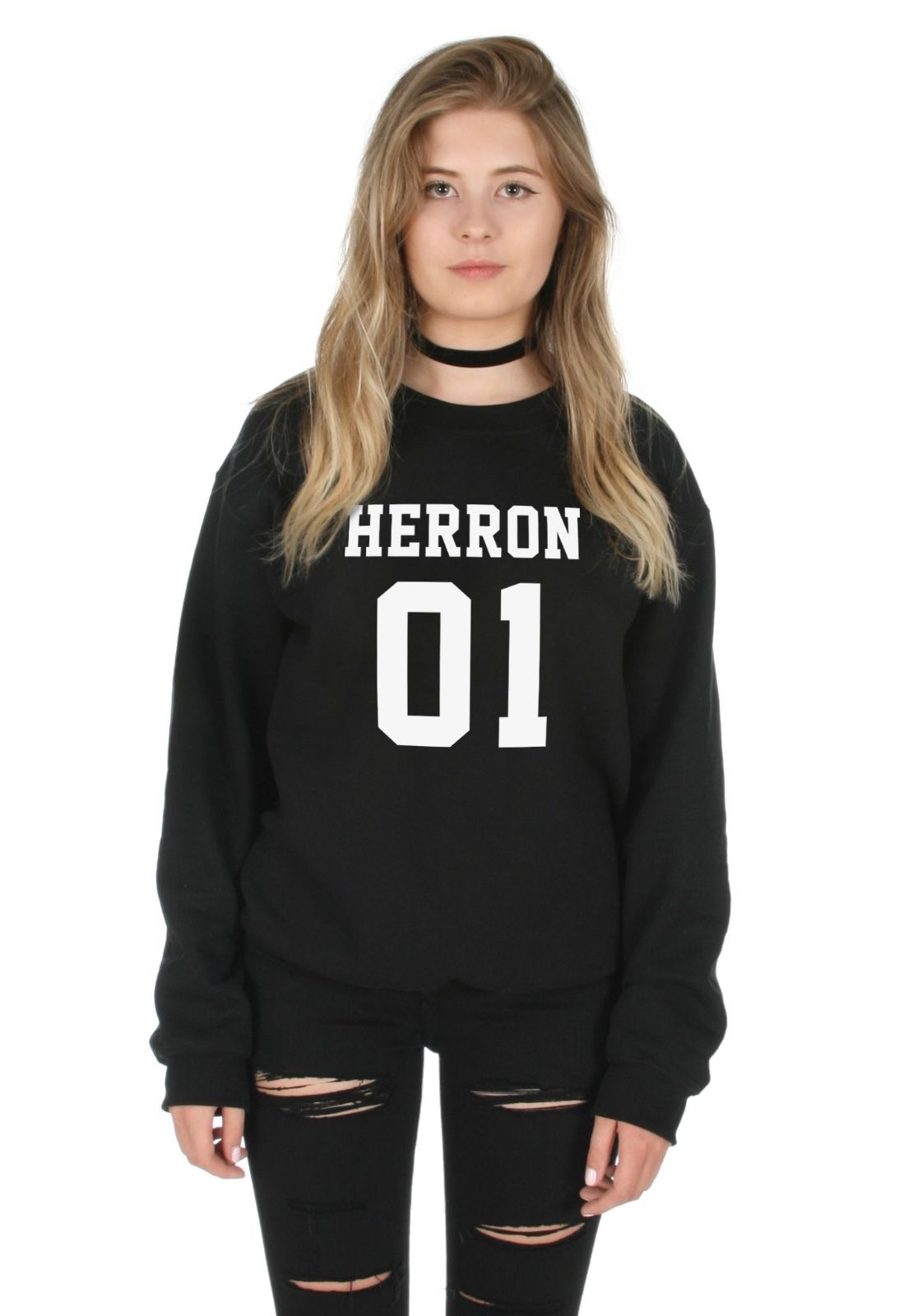 df0059d835698d Herron 01 Jumper Sweater Top Boyband Why Don t We Zach Besson in ...