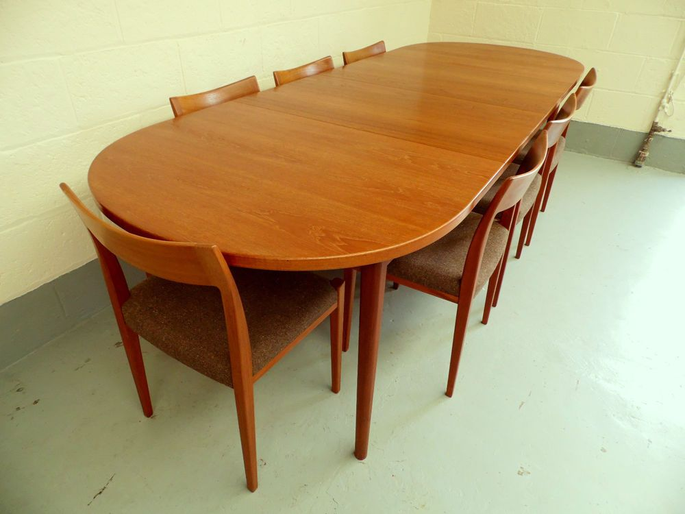 Troeds / Nils Jonsson 1960s Teak Danish Dining Table And Chairs Set, Vintage
