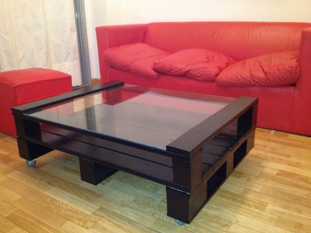 Muebles hecho con pallets proyectos en madera para el hogar - Muebles hechos con estibas ...