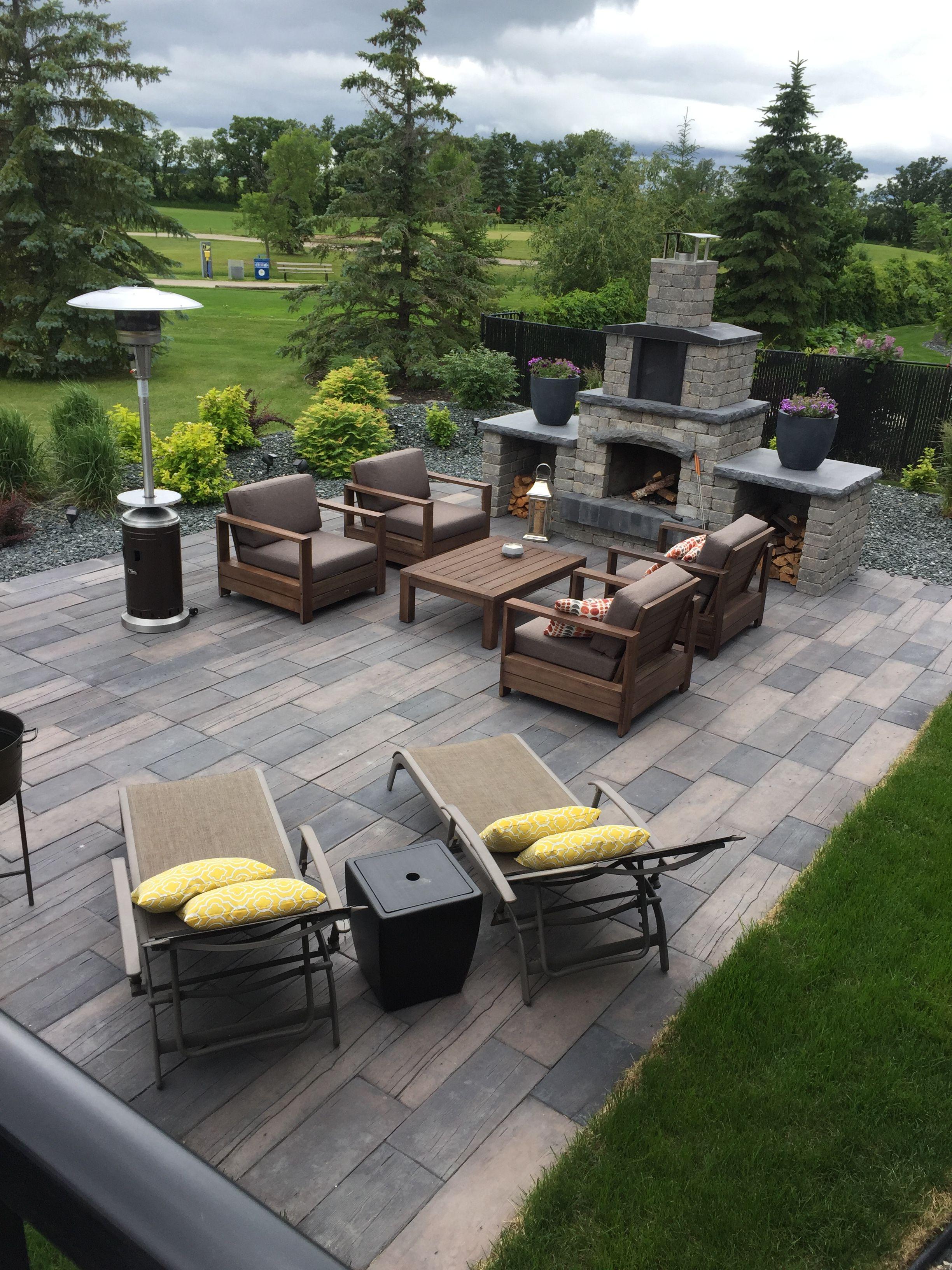 barkman oasis fireplace and bridgewood patio outdoor brick