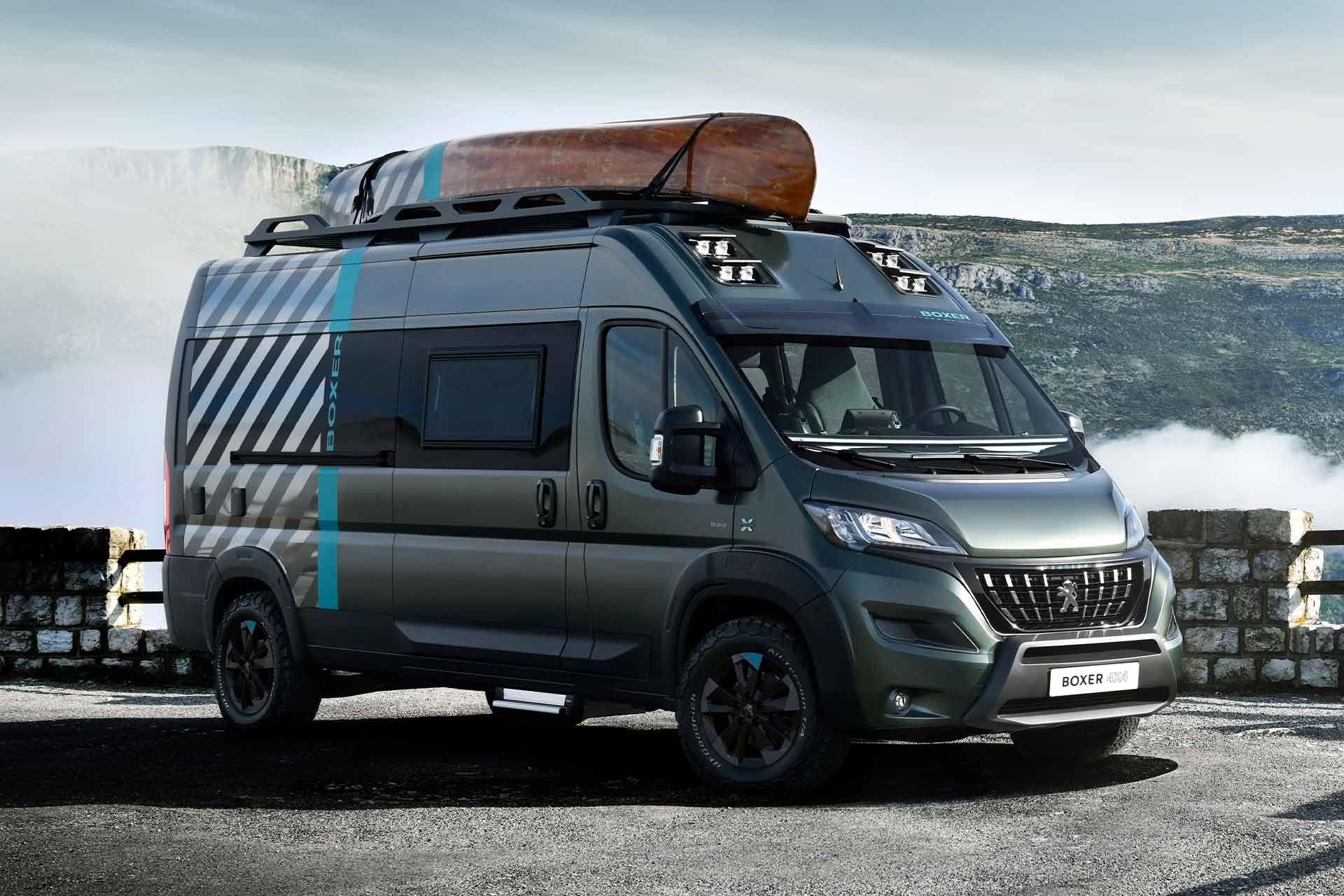 Peugeot Boxer 8×8 Camper Van Concept  Peugeot, Mercedes truck, Van
