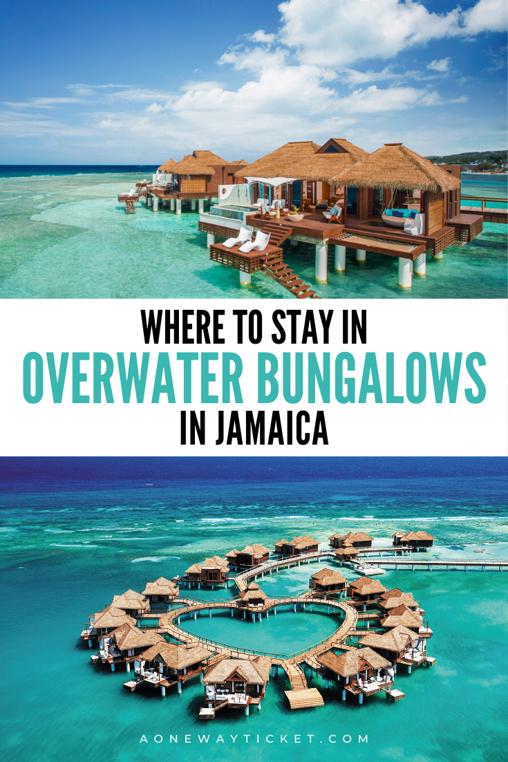 Did you know that you can stay in overwater bungalows in Jamaica? Click to see the best all-inclusive resorts with overwater villas in Jamaica! #jamaica #jamaicaresorts #caribbean #caribbeanresorts #travel | jamaica vacation tips | caribbean resorts | all inclusive jamaica resorts | jamaica honeymoon | jamaica travel | caribbean destinations | overwater bungalows | jamaica resort | sandals resort jamaica | montego bay jamaica | ocho rios jamaica