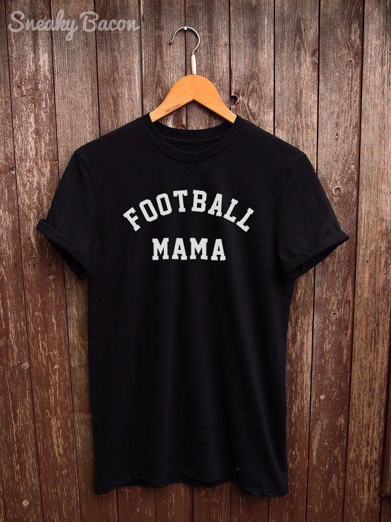 5564cca9377034 Football Mama tshirt - football fan shirt