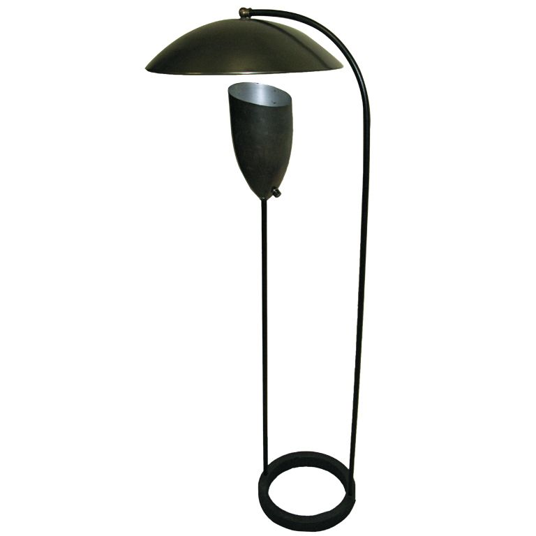 grossman lighting. Rare Greta Grossman Floor Lamp - Unusual Variation | From A Unique Collection Of Antique And Lighting