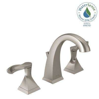 Everly 8 Inwidespread 2Handle Bathroom Faucet In Spotshield Best Brushed Nickel Bathroom Faucets Decorating Inspiration
