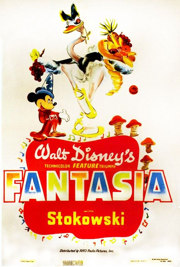 Fantasia (1940): A collection of animated interpretations of