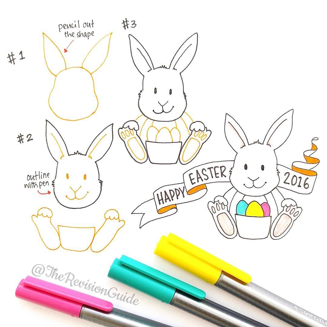 Apsi S Sketchnotes And Doodles On Instagram Easter Bunny Doodle Trg Randomdoodle Doodle Doodleaday Drawing Activities Doodles Doodle Drawings