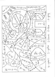 Calculated-Colouring-Solving-Equations-Grade-B-A.pdf | Maths<10 ...
