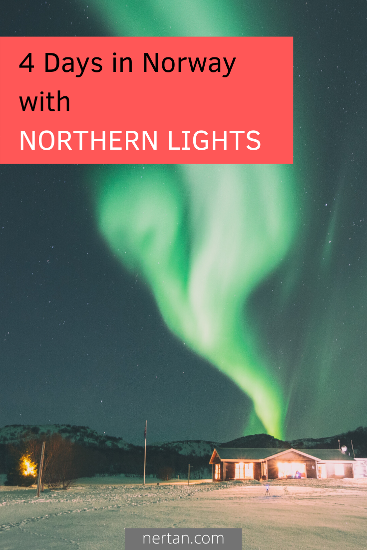 Short trip to Tromsø in winter to see the northern lights