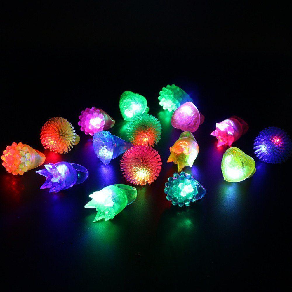 Lacgo 74 Piece Led Spotlight Flash Party Supplies Toy Set