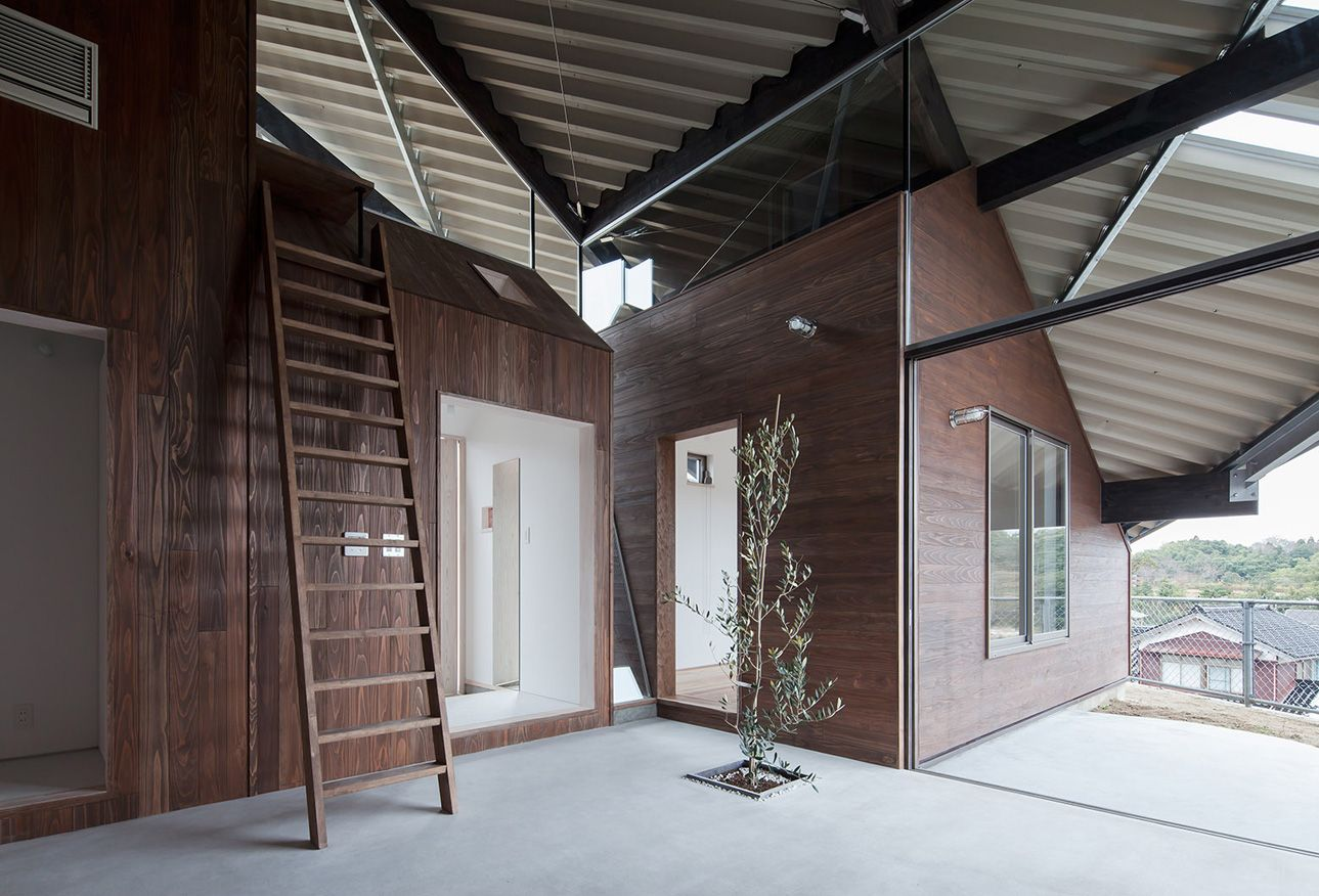 Rain Shelter House by Y+M Design Office 3 Sheltered