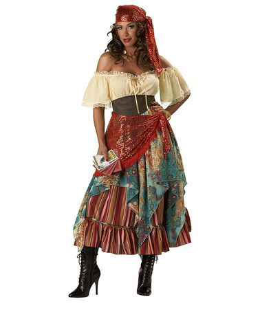 Fortune Teller Costume - Women #zulilyfinds  sc 1 st  Pinterest : awesome costumes for women  - Germanpascual.Com