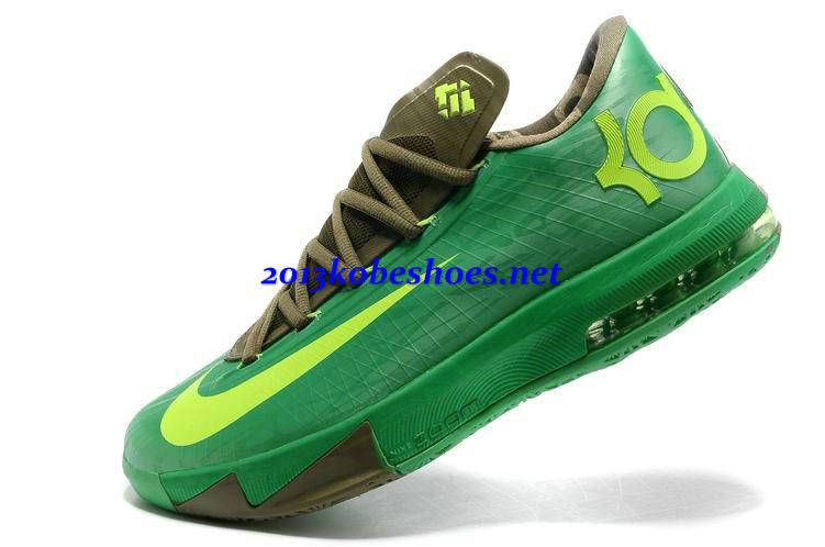 the best attitude c1111 bcc59 Bamboo Apple Green Nike Zoom KD VI Brown Bronze Tongue 599424 301