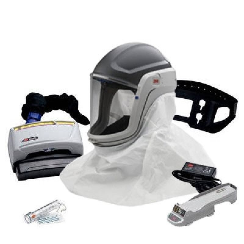 3m Versaflo Tr 600 Silica Safety Papr Kit With Integrated Hard Hat Medical Device Design Helmet Concept Safety