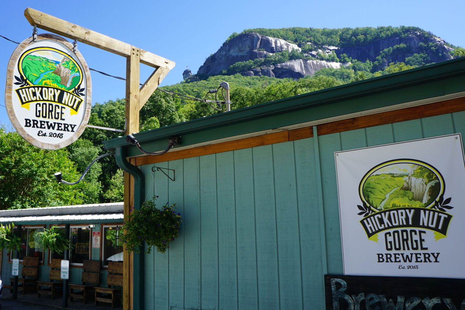Hickory Nut Gorge Brewery in Chimney Rock, Nc | Landscape Design ...
