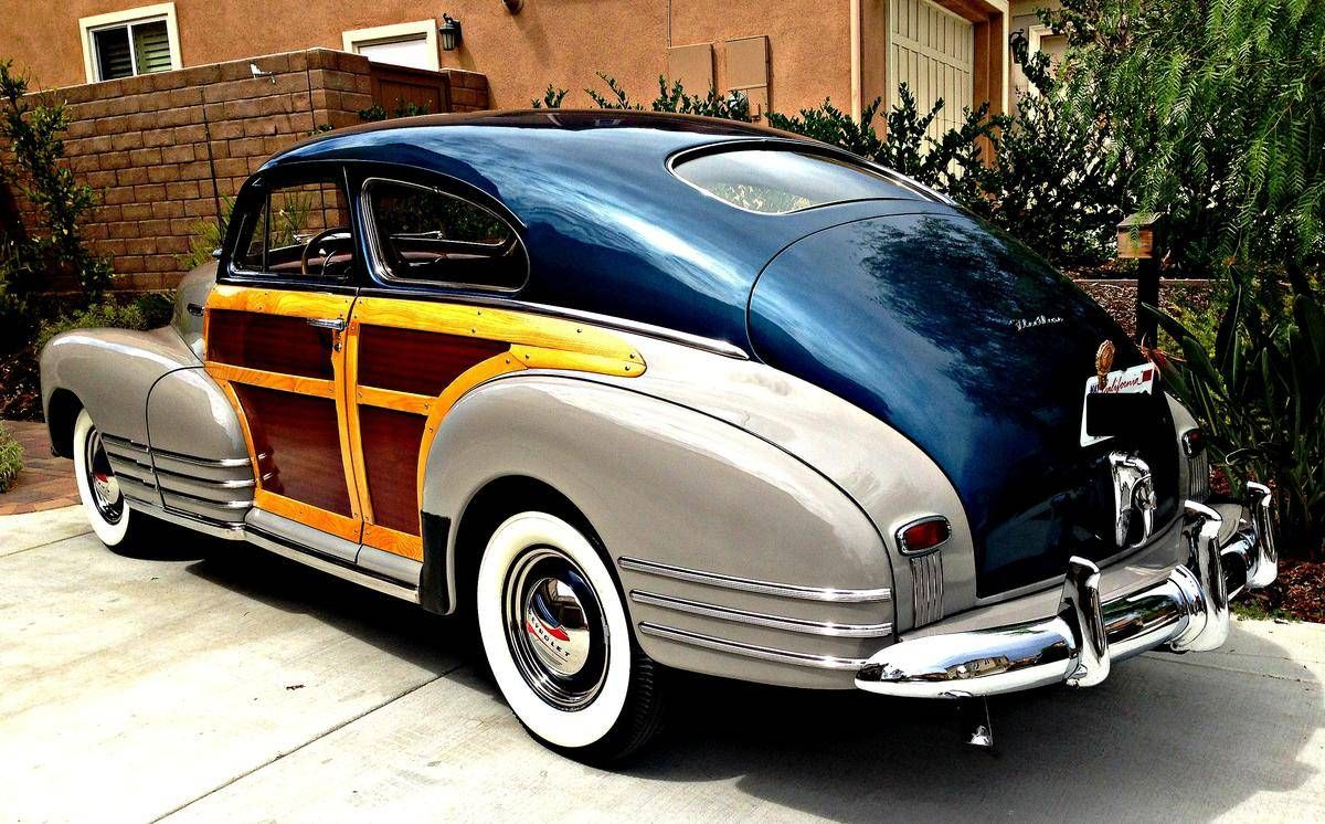 1948 Chevrolet Fleetline Country Club Woody Aerosedan Chevrolet