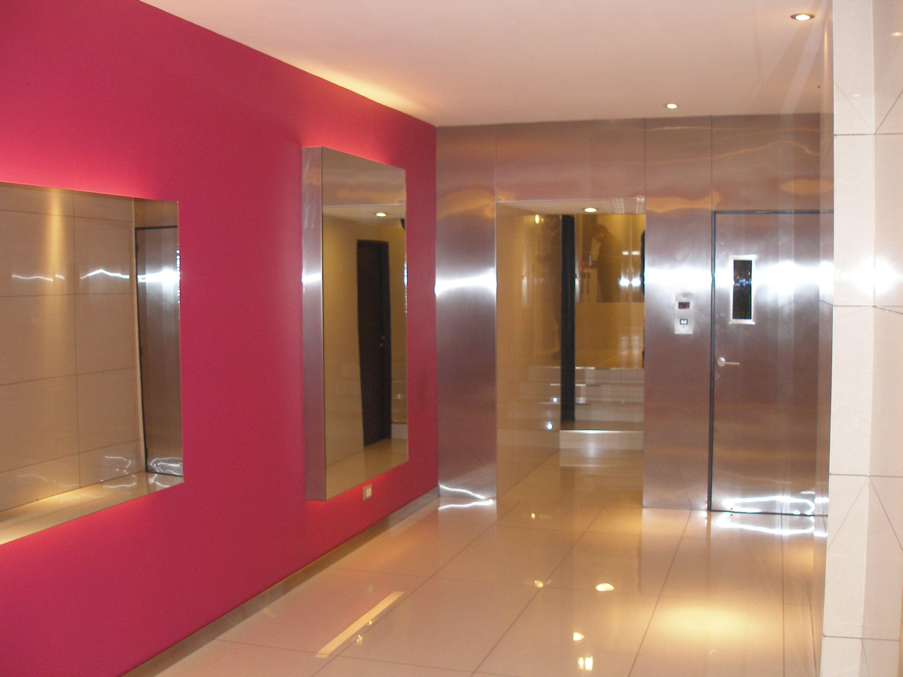 Dise o hall de entrada edificio residencial buenos aires - Decoracion hall entrada ...