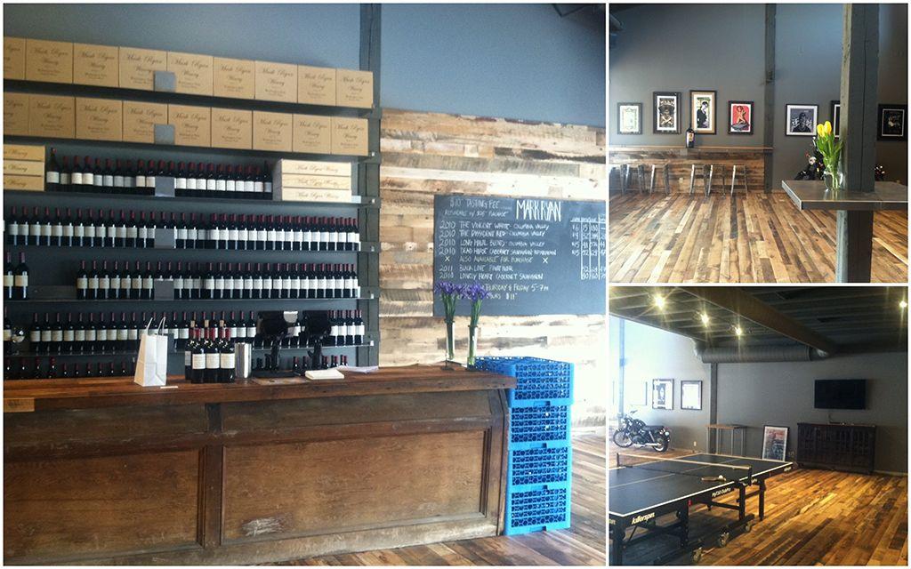 Mark Ryan Winery Woodinville Events Venue Tasting room