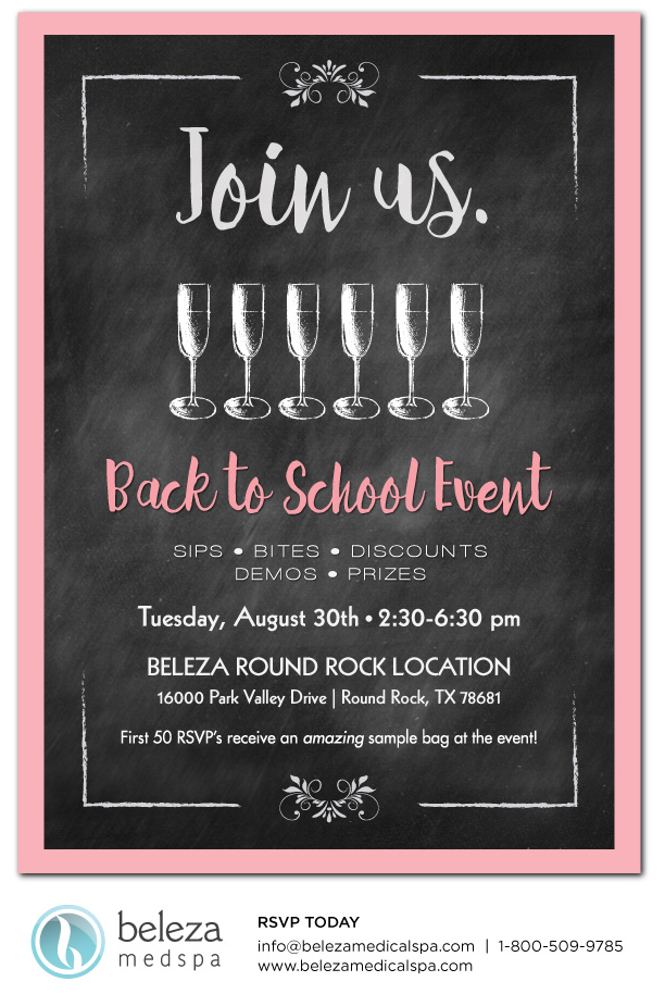 Back to school email invitation for medical spa event graphic back to school email invitation for medical spa event stopboris Gallery