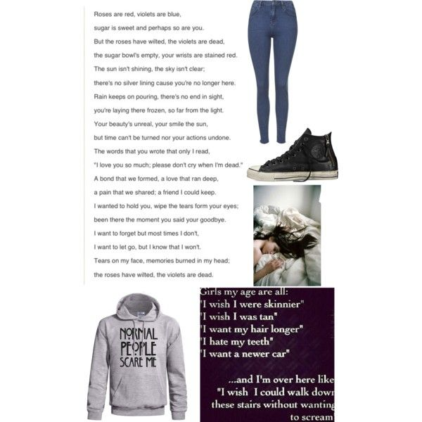 Untitled #752 by beau-4-ever on Polyvore featuring polyvore, fashion, style, Topshop and Converse