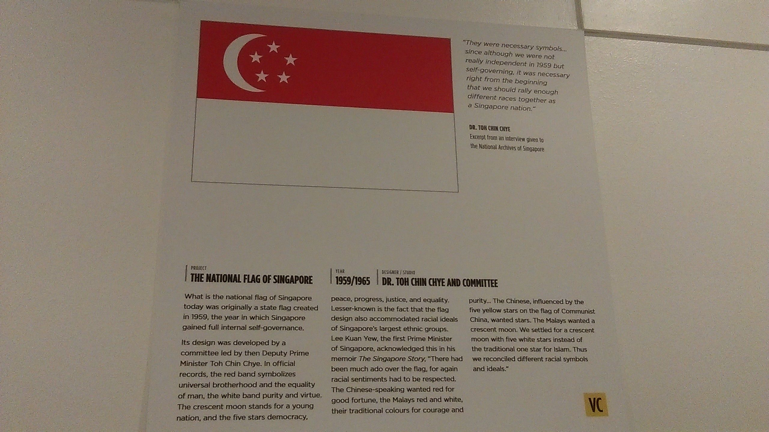 A Symbol Of Singapores Independence The Singaporean Flag Is A Very