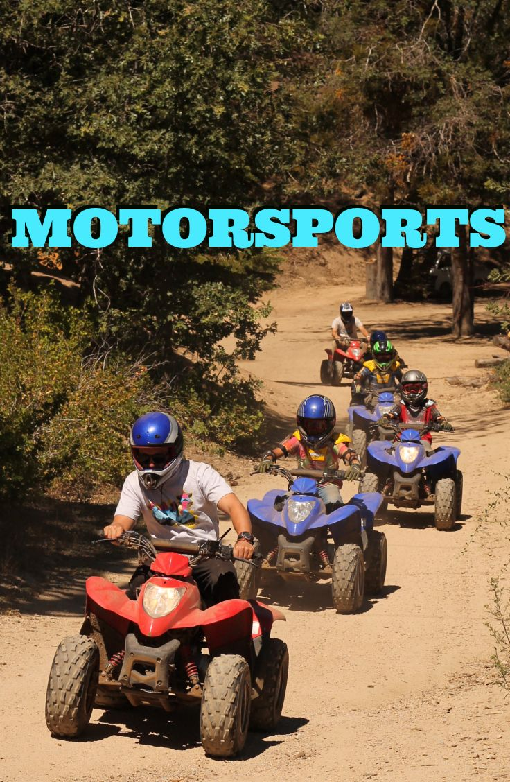Motor Sports Camp! Drive ATVs and dirt bikes at our summer camp for ...