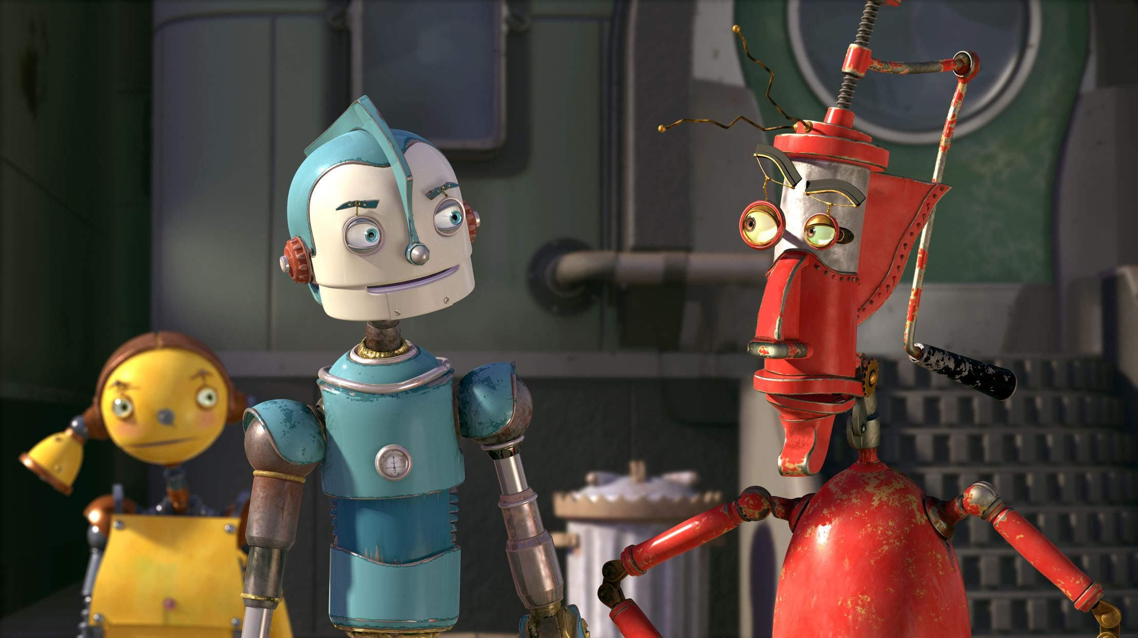 These Animated Robots Have Taken Center Stage On The Silver Screen Robot Picture Animated Movies Disney Animated Movies