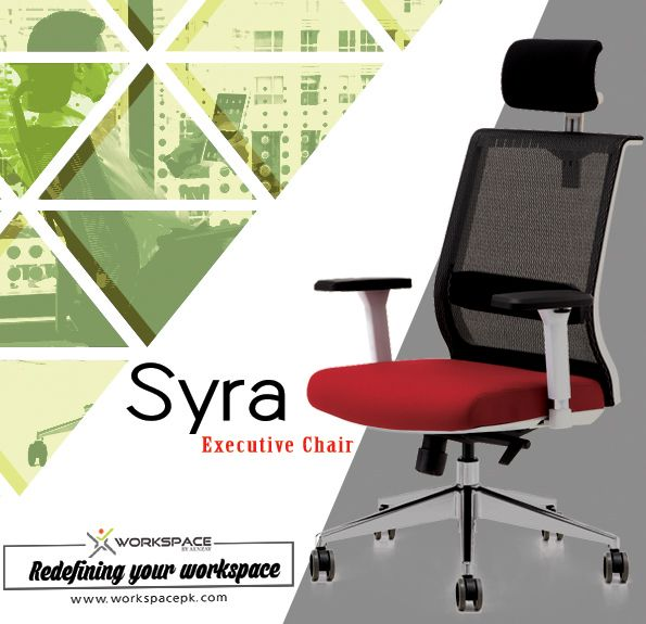 Syra executive office chair by Workspace Office