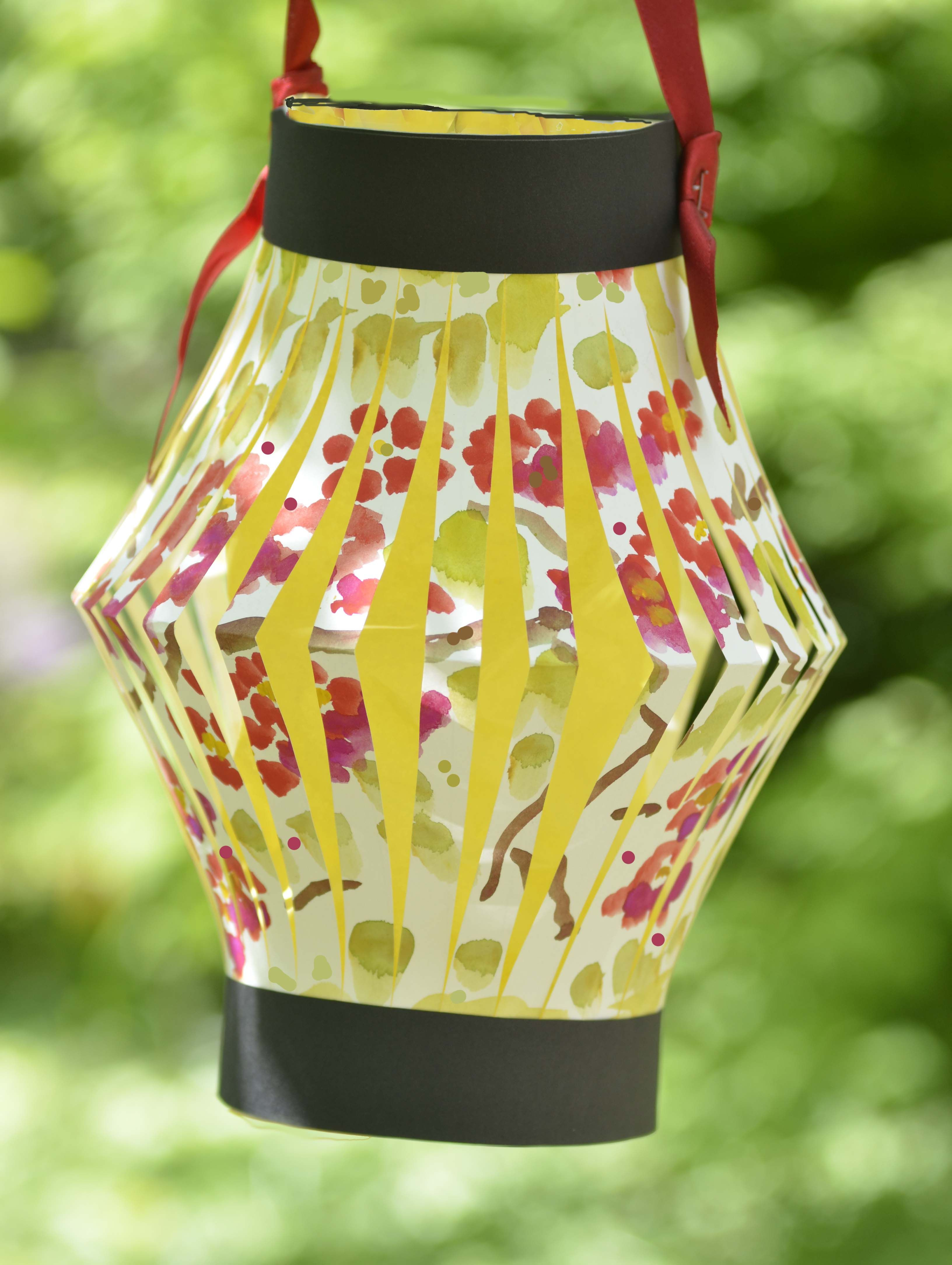 Paper Lantern Made With Child S Artwork