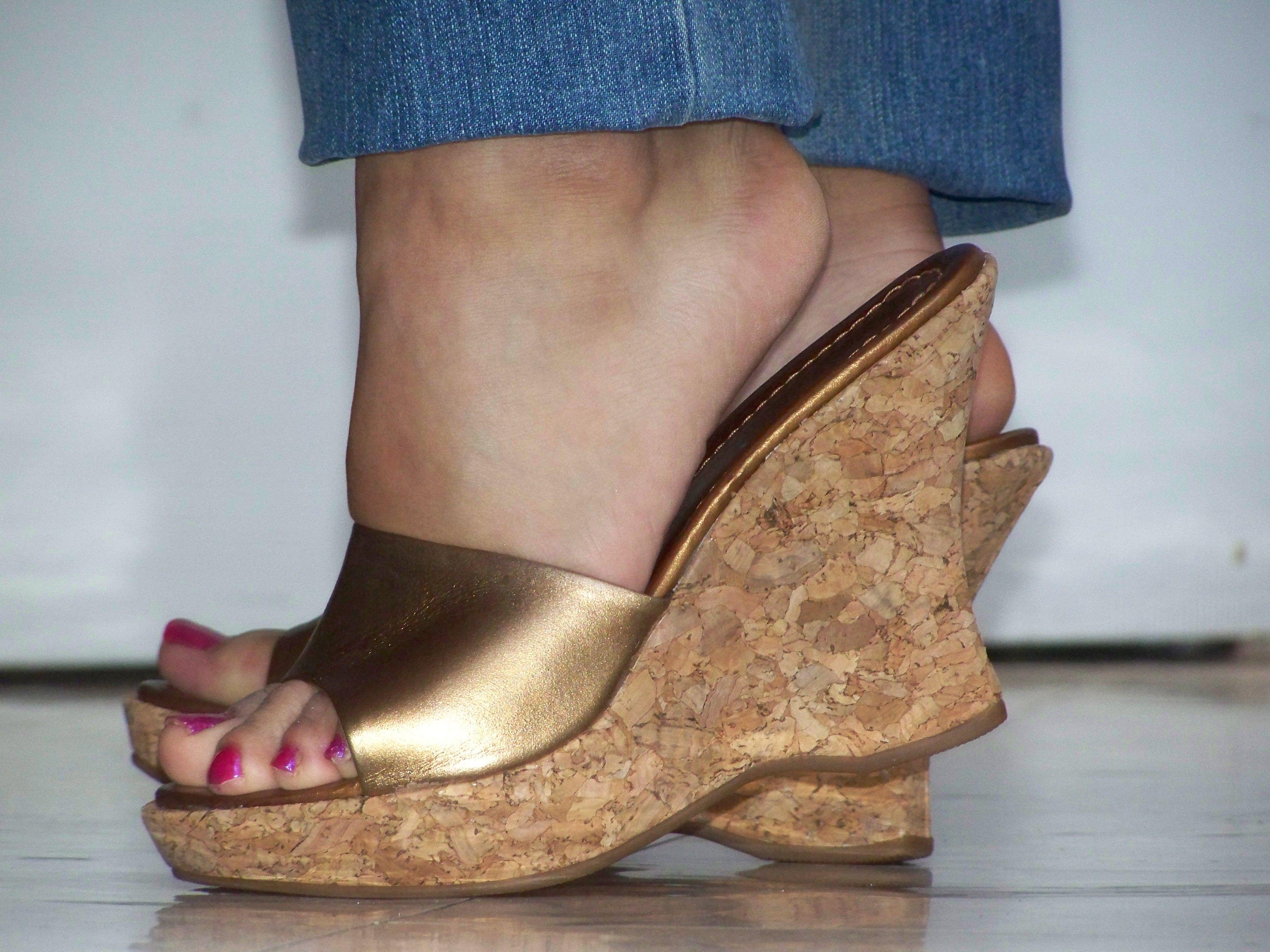 Chaussures automne pour pieds larges rouges Fashion femme VH87y