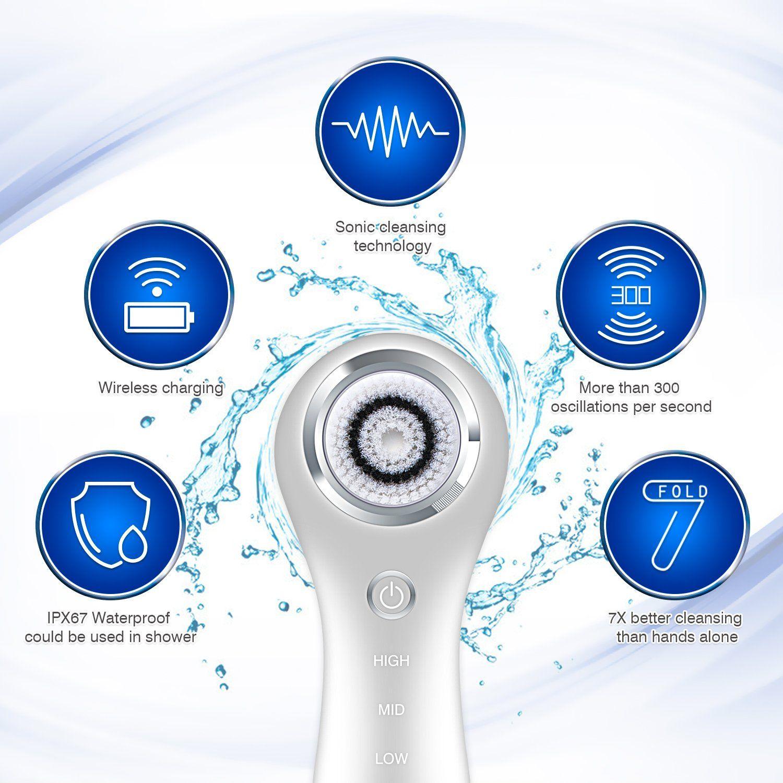 Electric Face Brush SC200 Endüstriyel tasarım