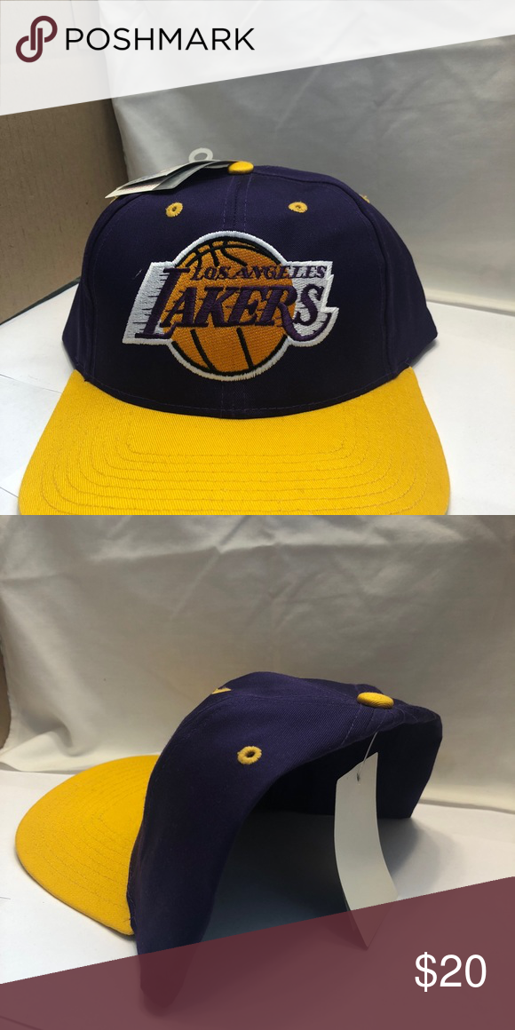 e874369fa81 Los Angeles Lakers hat brand new with tags Brand new with tags SnapBack  adjustable Accessories Hats
