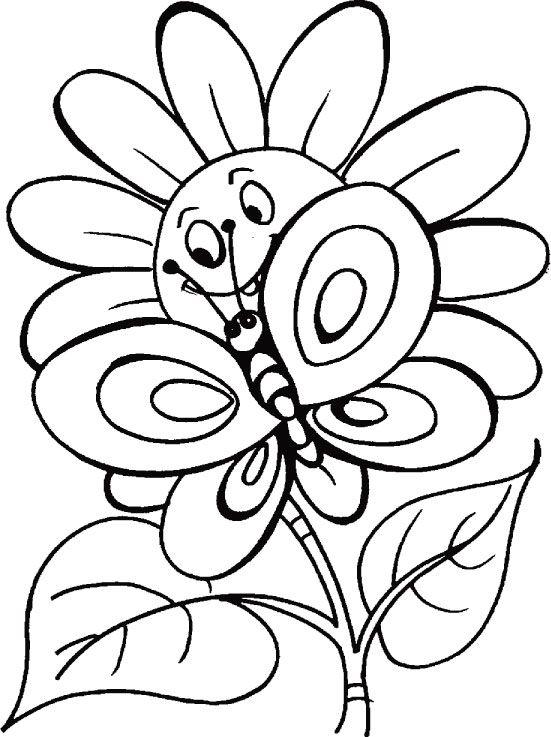 juegos para colorear mariposas | Mariposas | Pinterest | Coloring ...