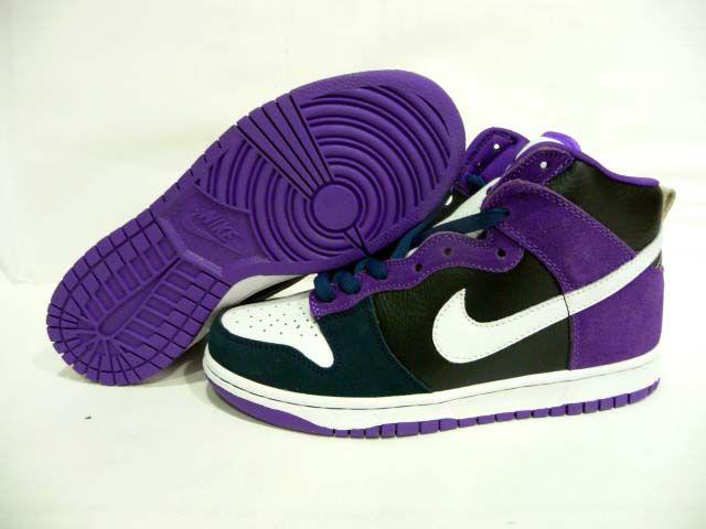 lowest price 28396 1ef07 Nike Dunk High Womens Pemium Womens Un Heavens Gate Black Purple