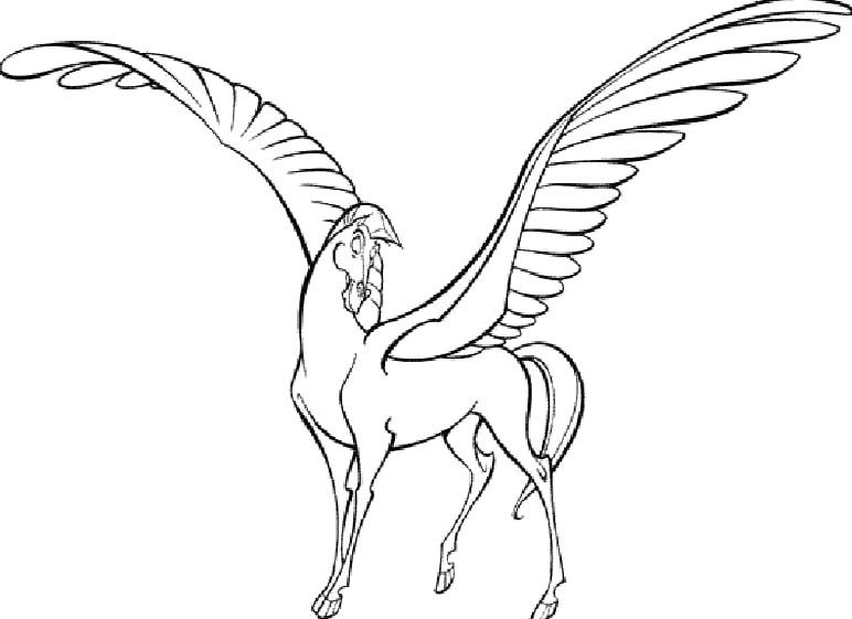Pictures Pegasus Hercules Coloring Pages Disney Coloring Pages Unicorn Coloring Pages Coloring Pages For Kids