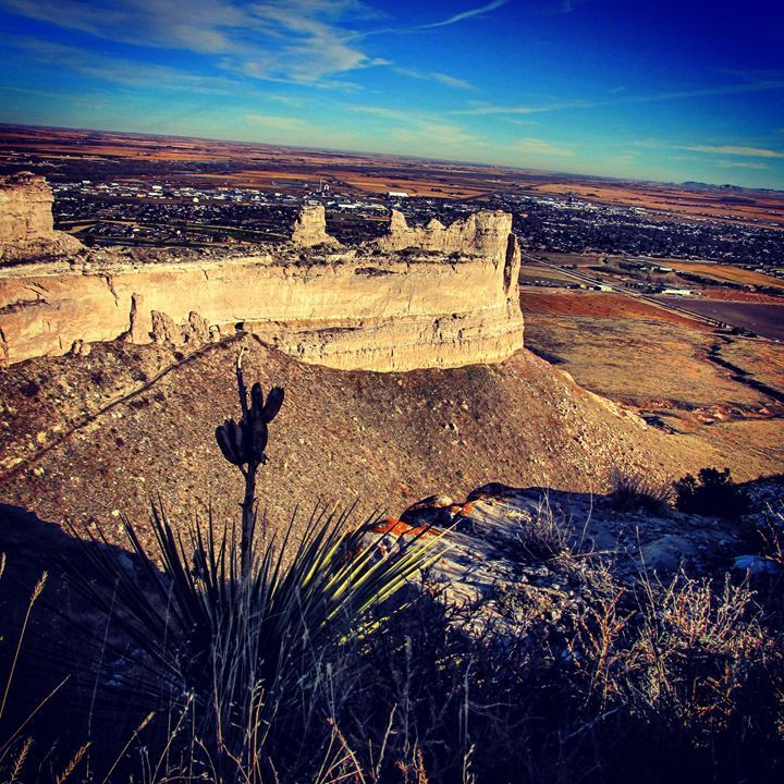 Views from Home - Amanda Hovseth Scottsbluff National Monument, Nebraska