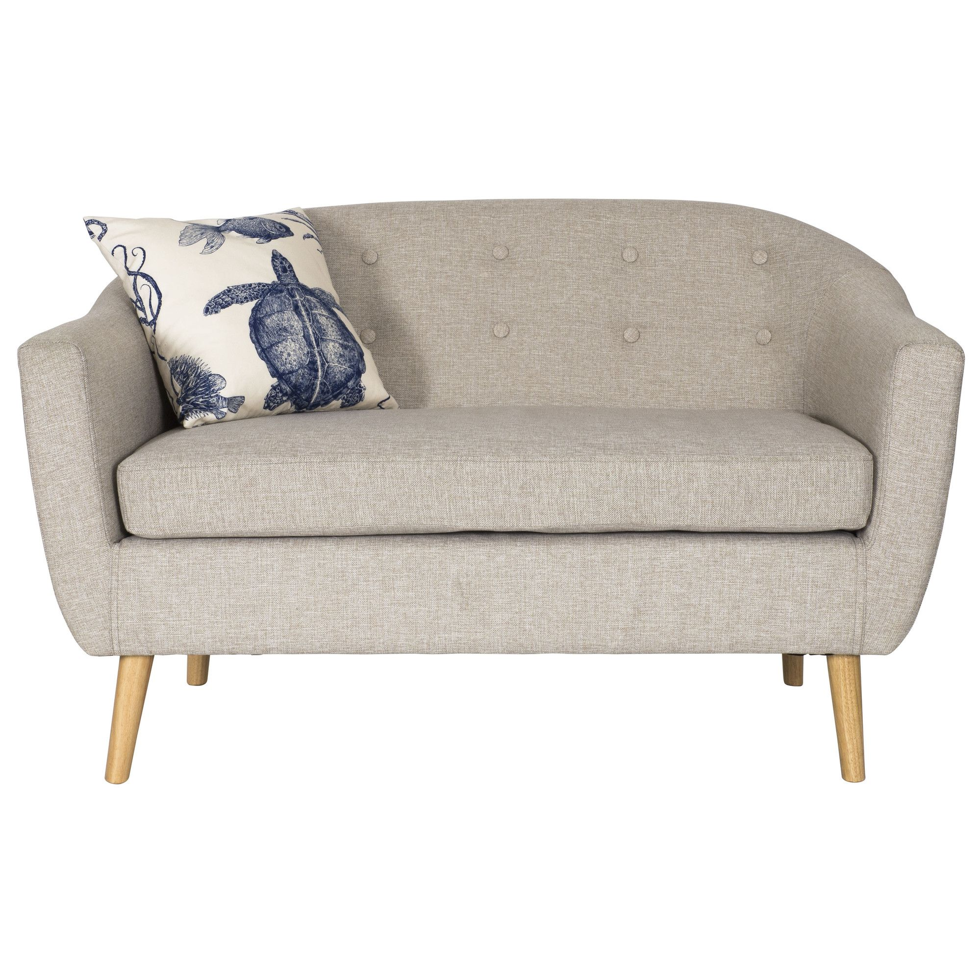 All Home Pedro 2 Seater Sofa & Reviews Wayfair UK