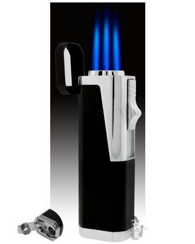 Triple Flame Cigar Lighter by Smoke Mart  $9 75  Wind