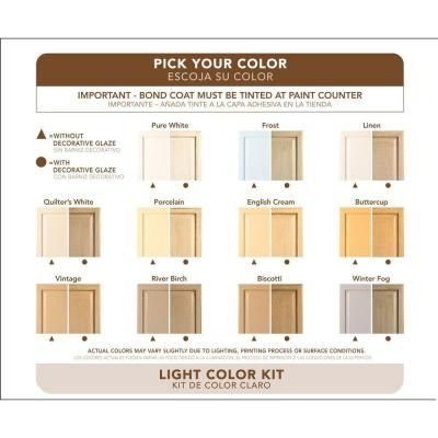 Rust-Oleum Transformations 9-Piece Light Color Cabinet Kit: I want to paint - Rust-Oleum Transformations Light Color Cabinet Kit (9-Piece