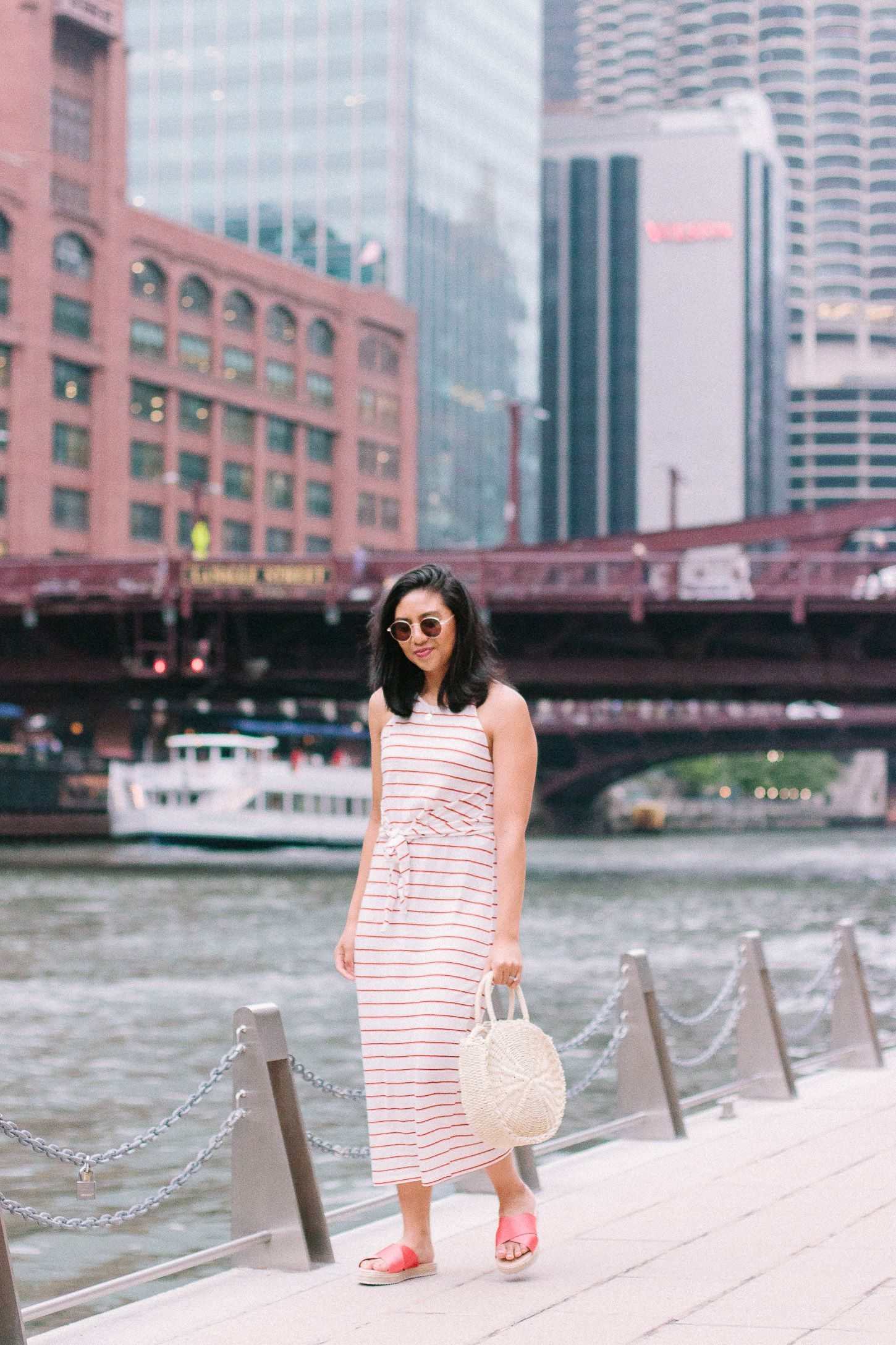 Best wedding dresses for travel  One of My Favorite Summer Spots is the Chicago Riverwalk  RDus