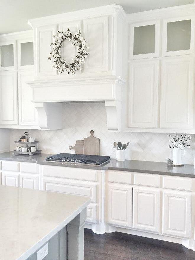 Stunning White Kitchen Cabinet Decor For 2020 Design Ideas 13