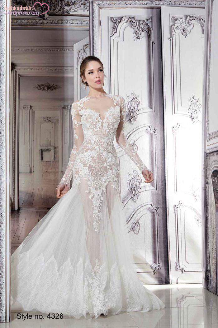 Pnina Tornai 2015 Spring Bridal Collection Wedding Dresses Sheer Wedding Dress Bridal Gowns