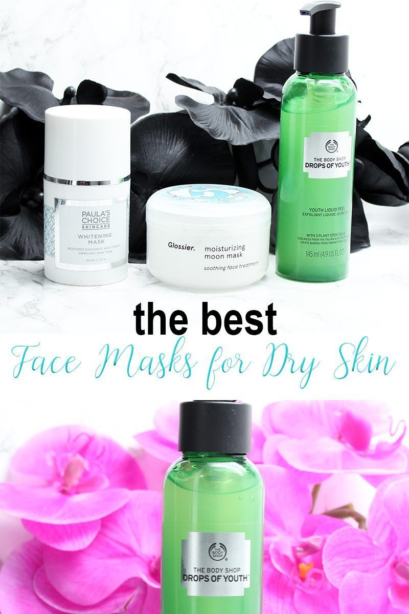 Best Face Masks for Dry Skin. Ever wonder what type of