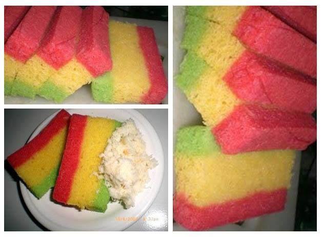 Cake Singkong Pelangi Kukurs Resep Kue Lezzat Kue Resep Kue Resep