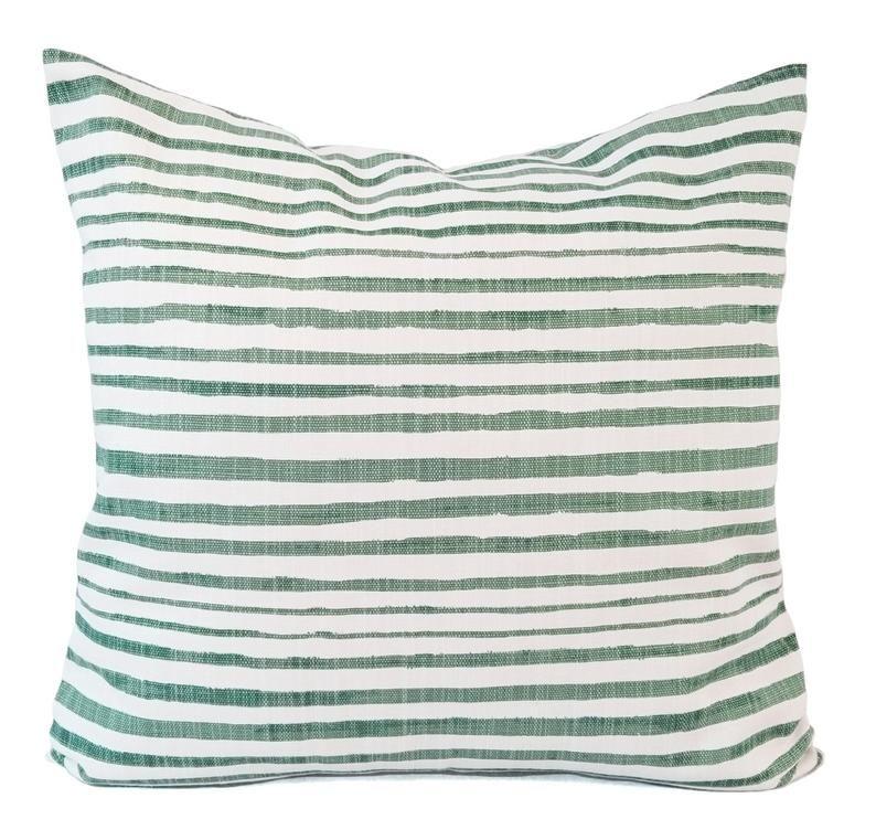 sage green pillow green throw