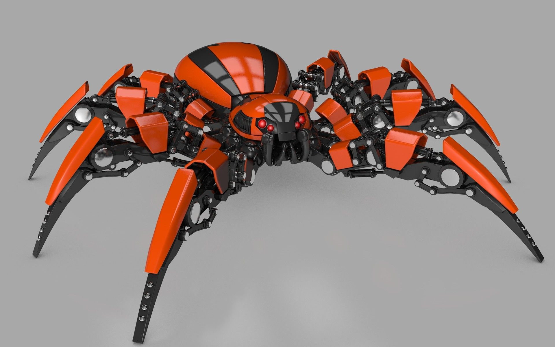 Searched d models for Spider Robot Model Spider Machines